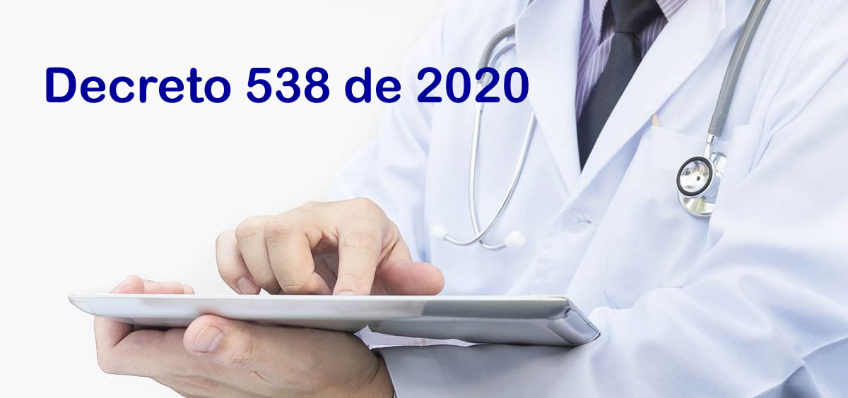 Decreto 538 del 12 de abril de 2020
